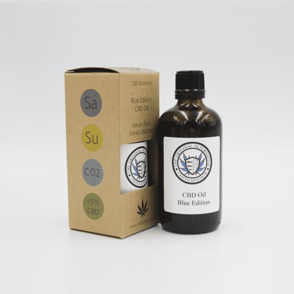 CBD Brothers Blue Edition Oil (Sativa)